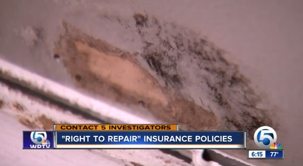 Read the fine print: does your homeowner's insurance have a right to repair clause?